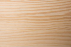 Light brown wood surface Stock Photography