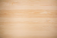 Light brown wood surface Royalty Free Stock Images