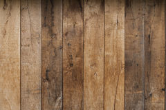 Light brown wooden plank texture wall background. Wooden wall pattern from oak planks brown royalty free stock photography
