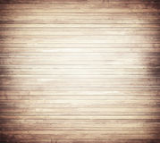 Light brown wooden texture with horizontal planks Stock Images