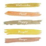 Light brown yellow orange love pastel banner on summer Stock Photography