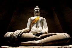 Light of Buddha. In Ayutthaya Thailand stock images