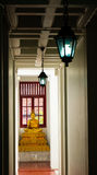 Light of Buddha. In wat ratchanatdaram worawihan Royalty Free Stock Photography