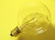 Light Bulb. Photo of 40Watt 120V Light Bulb stock photos