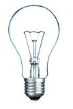 Light bulb. Isolated on the white background Royalty Free Stock Photos