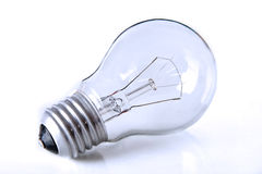 Light bulb. Isolated on white. Very detailed Stock Image