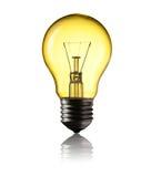 Light Bulb. Isolated on white background Royalty Free Stock Photos