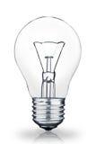 Light Bulb. Isolated on white background Stock Image
