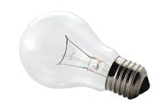 Light-bulb. Isolated lightbulb on white background Royalty Free Stock Photos