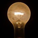 Light Bulb. In the dark Royalty Free Stock Image