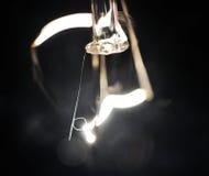 Light Bulb. An abstract of a light bulb, macro Stock Photos