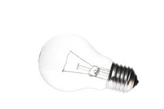 Light bulb. On white background Stock Photo