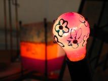 Light bulb. A floral light bulb Royalty Free Stock Photo