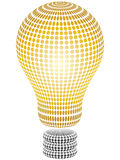 Light bulb. Abstract light bulb vector illustration Stock Images