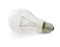 Light bulb. Bulb on a white background Royalty Free Stock Photography