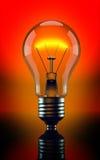 Light bulb. 3d render of Light bulb Stock Illustration