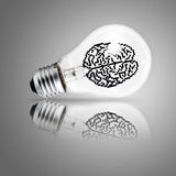 Light bulb as concept Stock Photos