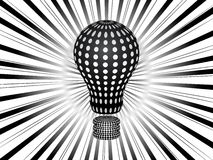 Light bulb background Royalty Free Stock Images