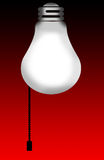 Light Bulb Background. Background - Light Bulb royalty free illustration