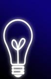 Light Bulb Background Royalty Free Stock Photos