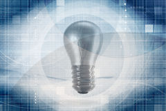 Light bulb background Stock Photos