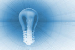 Light bulb background Stock Image
