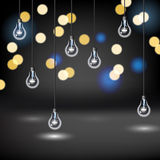 Light Bulb Background Stock Photography