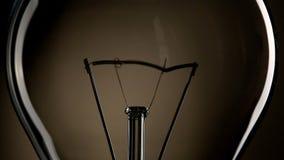 Light bulb stock footage