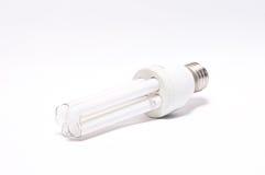 light bulb broken on white background Stock Photo