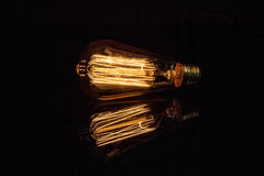 Light bulb capture energy Stock Photo