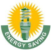 Light bulb CFL energy saving Stock Photos