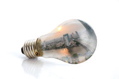 Light bulb. Royalty Free Stock Photography