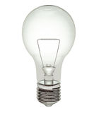Light bulb with clipping path Stock Photos