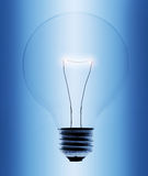 Light bulb close-up Stock Photography