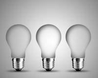 Light bulb concept Royalty Free Stock Image