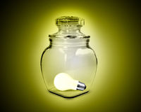Light bulb concept Stock Photography