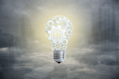 Light bulb concept for great idea, innovation and inspiration. Light bulb concept for great idea, innovation and inspiration for business stock images