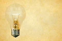 Light bulb concept illustraion Stock Photography