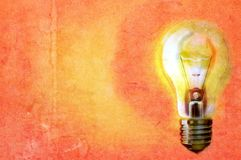 Light bulb concept illustraion Stock Image