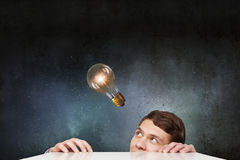 Light bulb concept Royalty Free Stock Photo