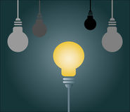 Light bulb. Stock Image