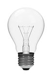 Light bulb. 3D rendered image of a common household 220V light bulb Royalty Free Stock Photos