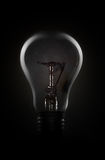 Light bulb in dark Royalty Free Stock Photography