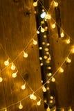 Light bulb decoration Royalty Free Stock Photography