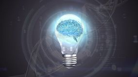 Light bulb with a digital brain