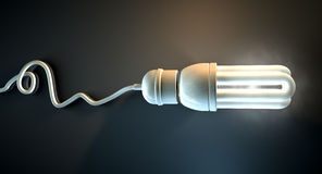 Light Bulb Dramatic Royalty Free Stock Image