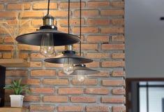 Light bulb Edison filament retro Royalty Free Stock Image