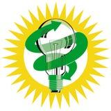 Light bulb energy saving Royalty Free Stock Photos
