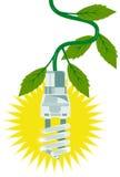 Light bulb energy saving Royalty Free Stock Images