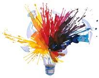 Light bulb energy Stock Image
